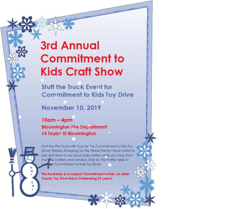 3rd Annual Commitment to Kids Vendor/Craft Fair