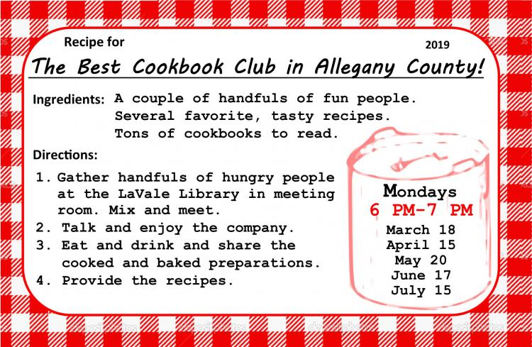 LaVale Library Cookbook Group