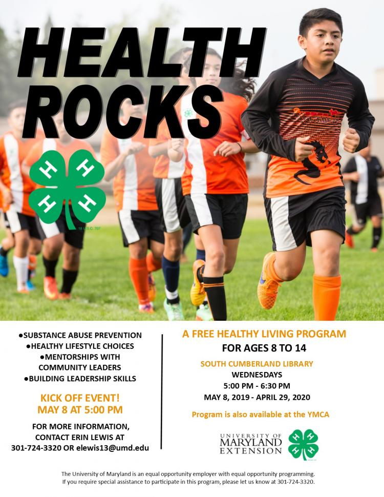Health Rocks: A Free Healthy Living Program