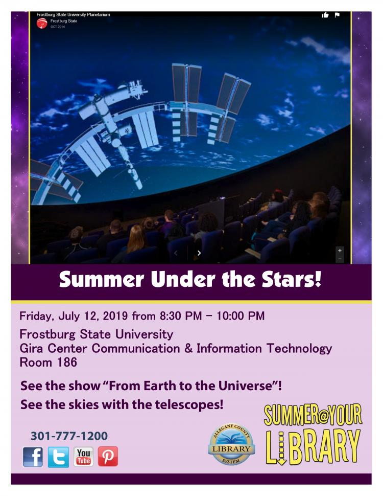 Summer@Your Library: Summer Under the Stars