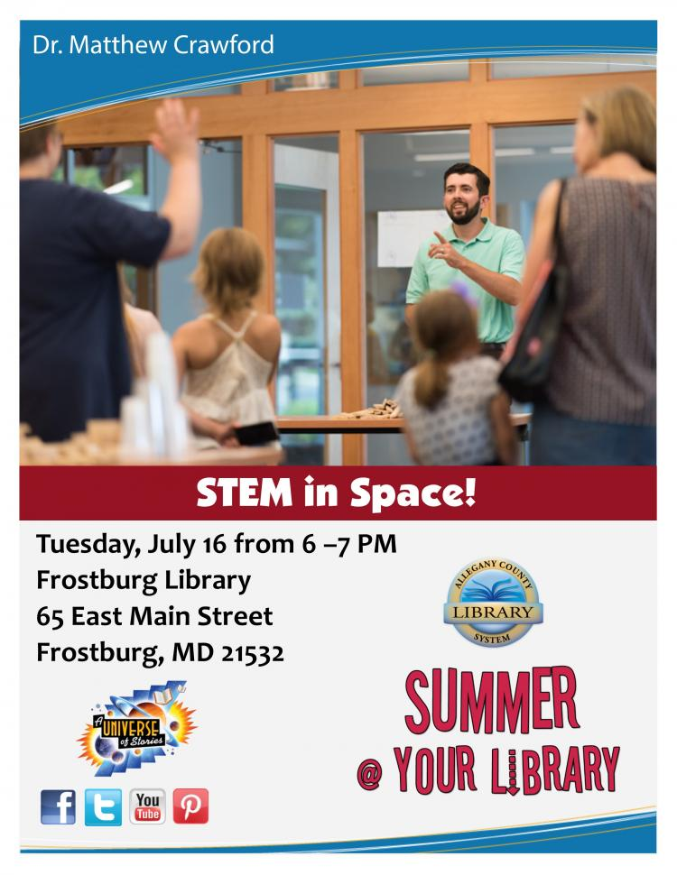 Summer@Your Library STEM in Space