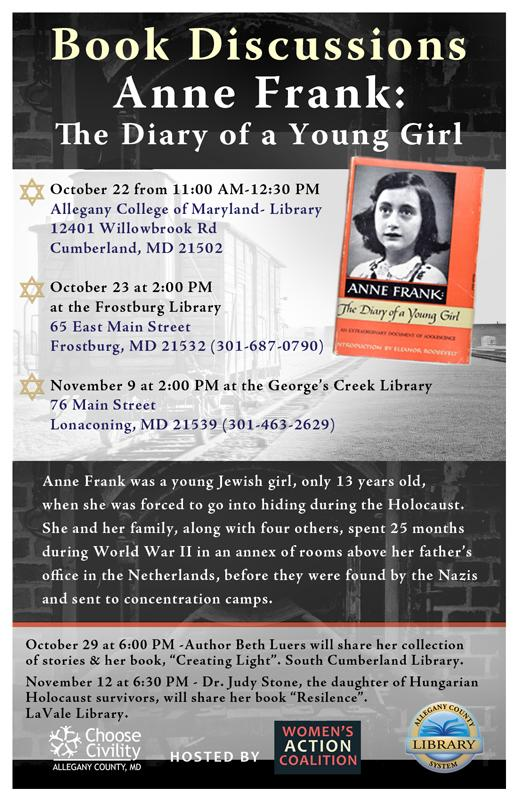 The Diary of Anne Frank Book Discussion