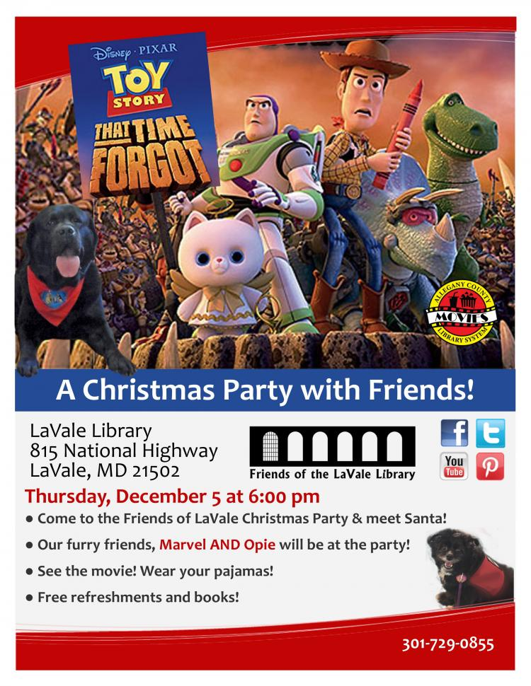 A Christmas Party with Friends of LaVale Library