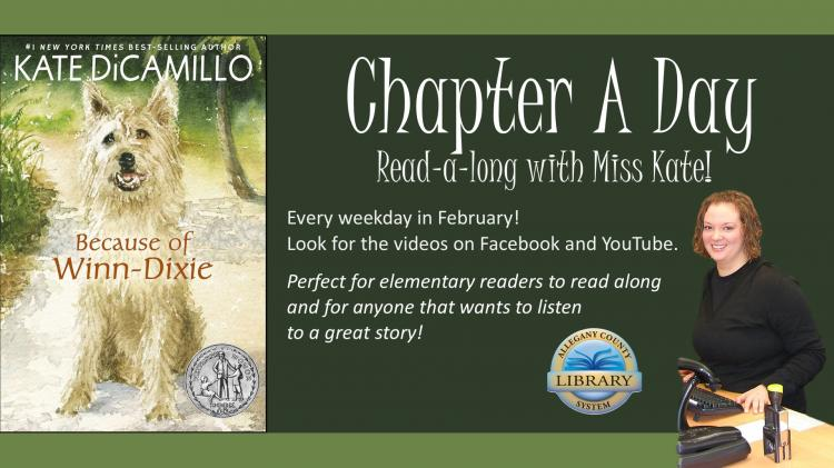 Chapter a Day Read-a-Long with Miss Kate
