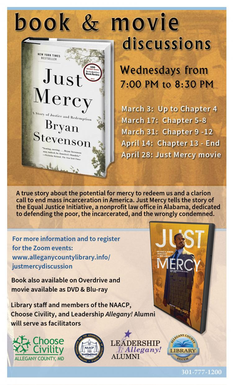 Just Mercy Book and Movie Discussions
