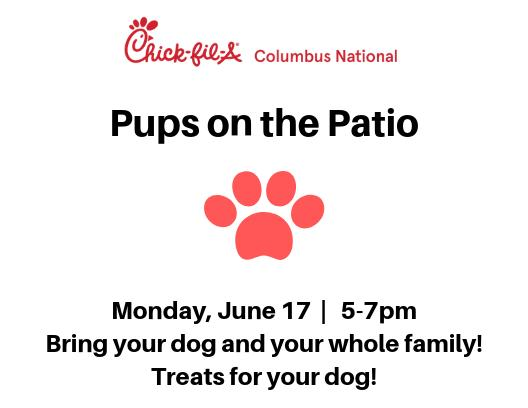 Pups on the Patio Family Night