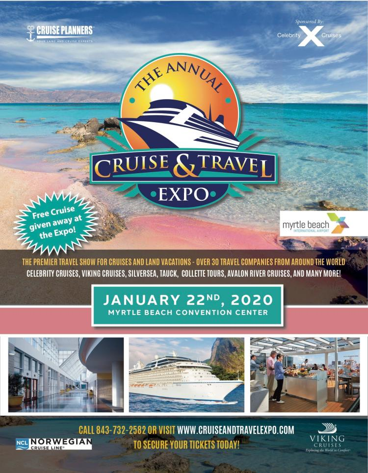 Early Bird Tickets Available Now for the Cruise & Travel Expo on 1/22/20
