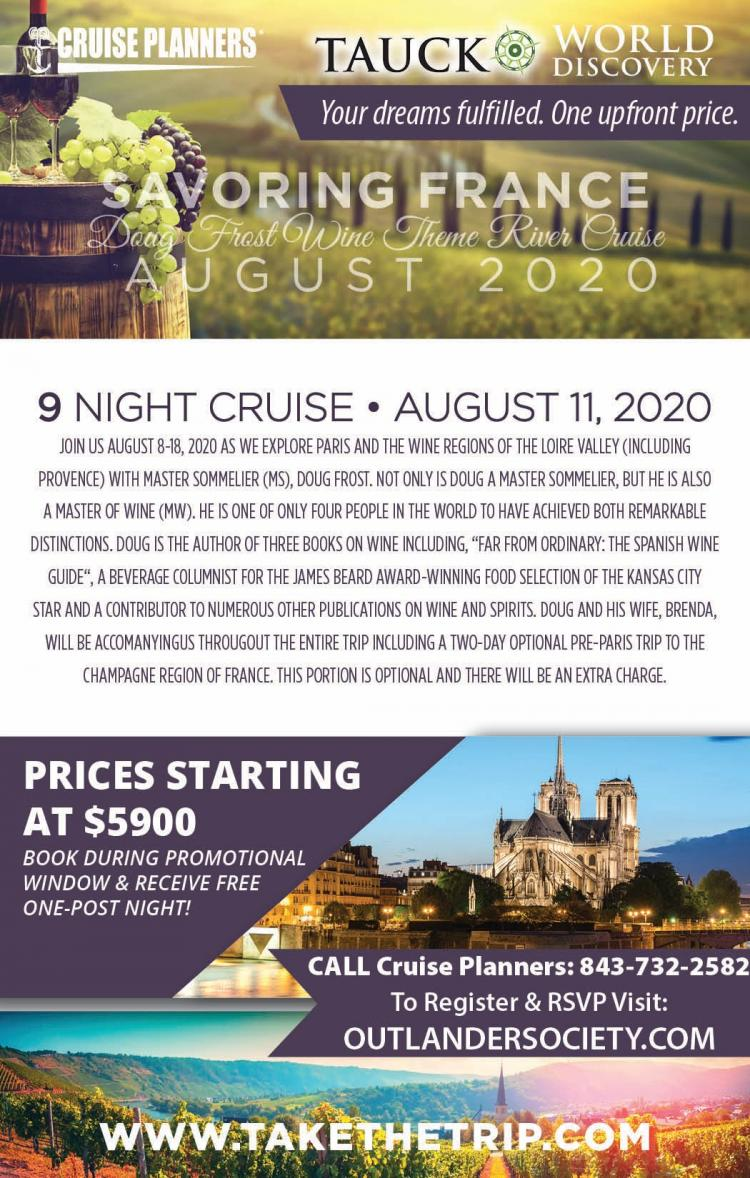 Cruise Planners now taking reservations for French Wine River Cruise