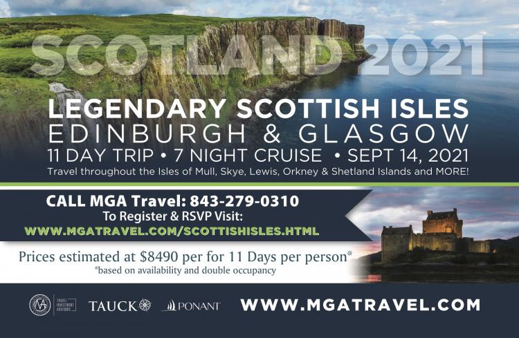 Scottish Isles Cruise Sept. 2021