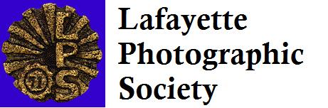 Lafayette Photographic Society New Member Orientation