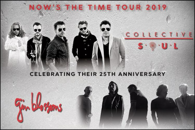 Now's The Time Tour – Collective Soul and Gin Blossoms