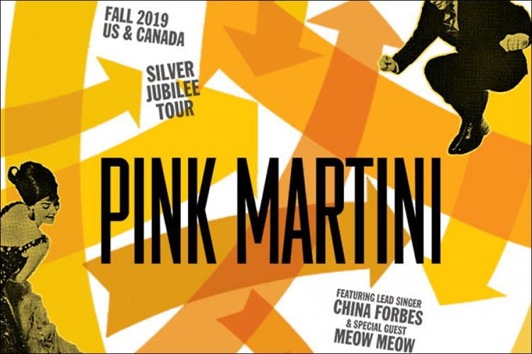 Pink Martini with Special Guest Meow Meow