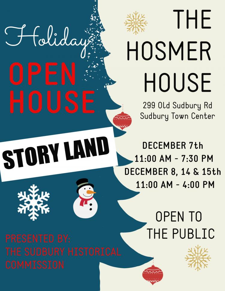 Hosmer House Holiday Open House