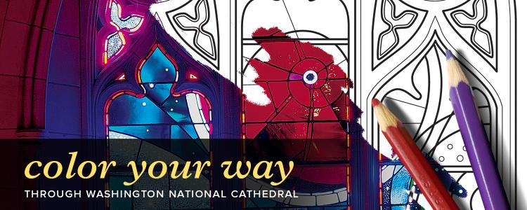 National Cathedral Offers Coloring Books for Homebound Families