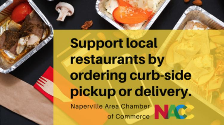 Naperville Restaurant Resource: Ready for Delivery or Pick-Up & Closure Info.
