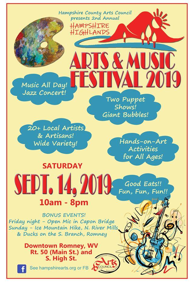 2nd Annual Hampshire Highlands Arts & Music Festival