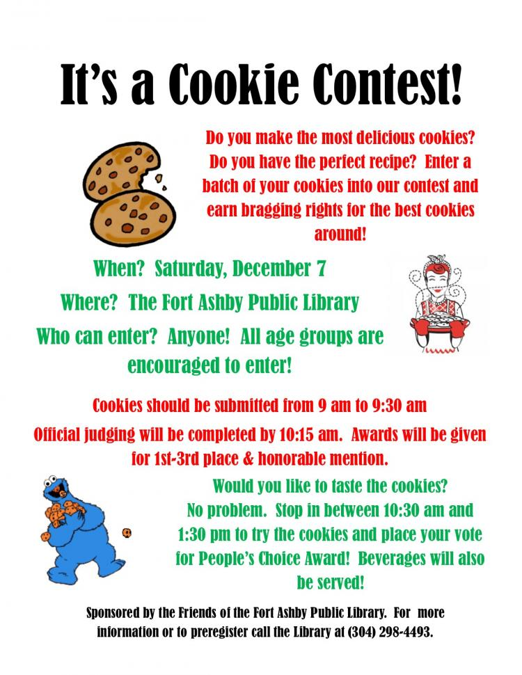 Cookie Contest at Ft. Ashby Library