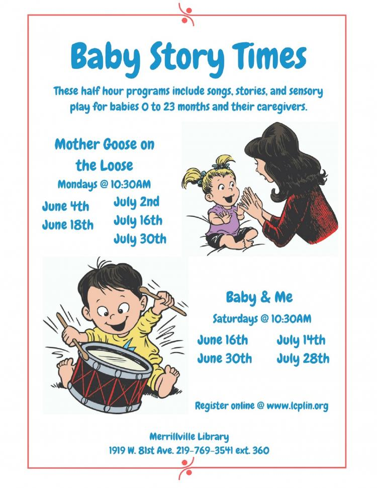 Baby & Me Time: Ages Birth - 23 months