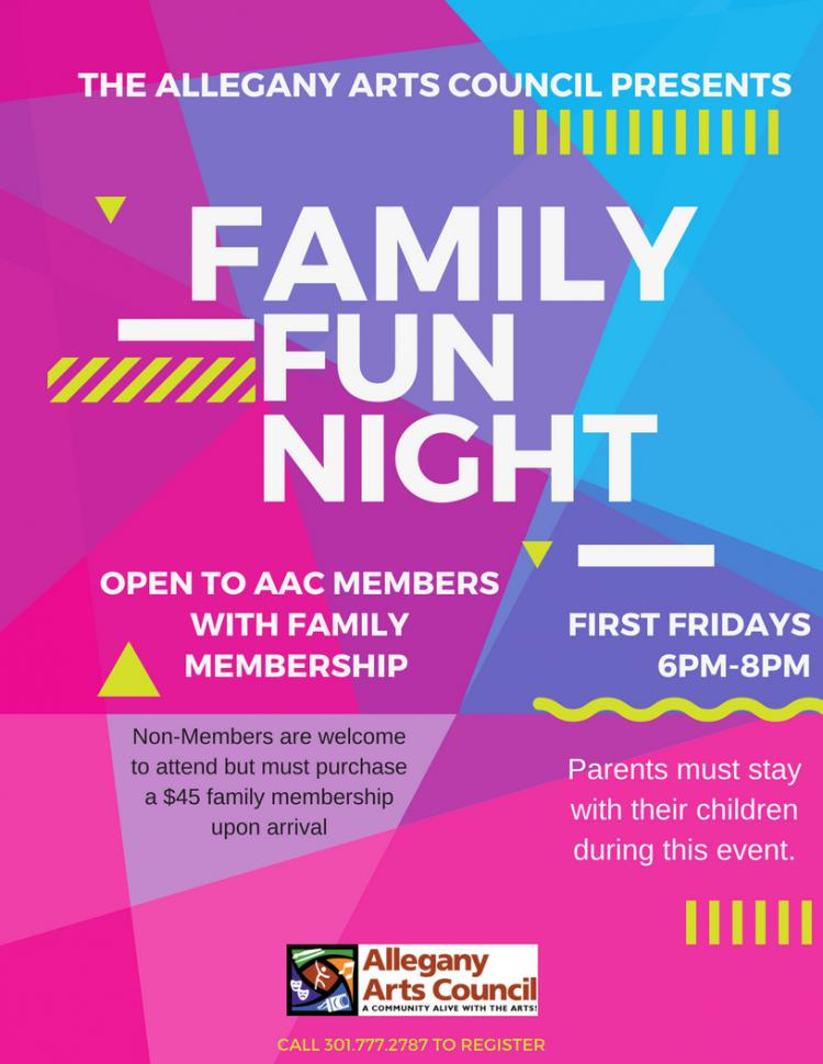 Allegany Arts Council Presents Family Fun Night