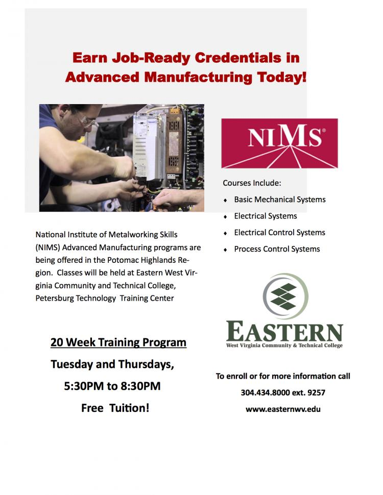 Free Advanced Manufacturing Course to be offered in Petersburg