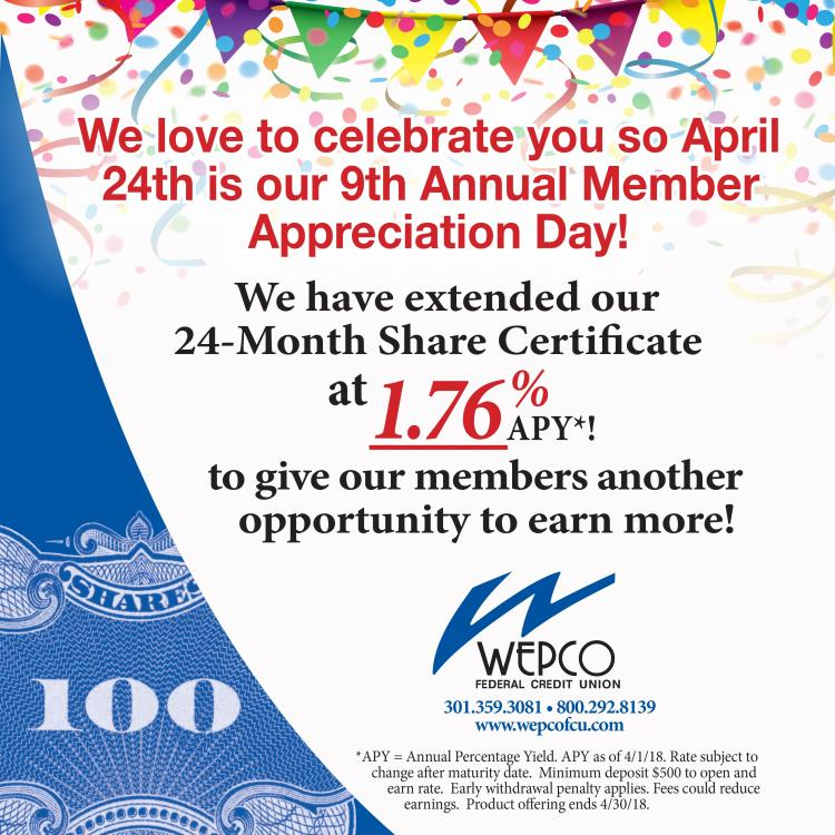 9th Annual Member Appreciation Day at WEPCO