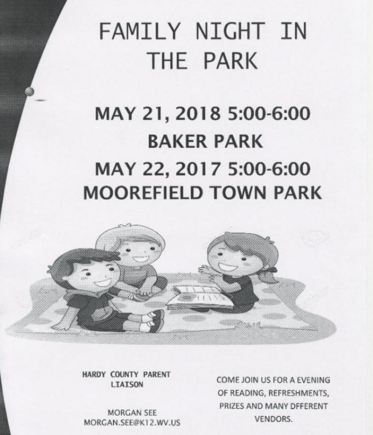 Family Night in the Park, Moorefield Town Park