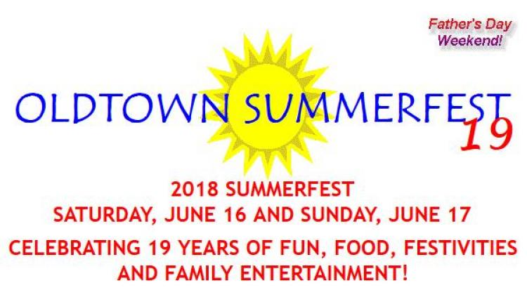 19th Annual Oldtown Summerfest in Oldtown, MD
