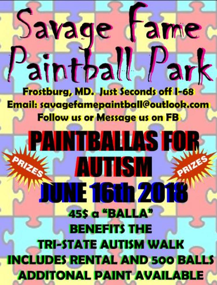 Paintballas For Autism