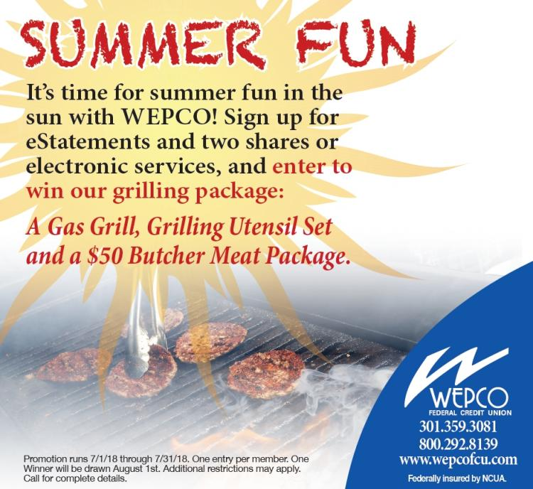 Enter to Win Summer Fun at WEPCO