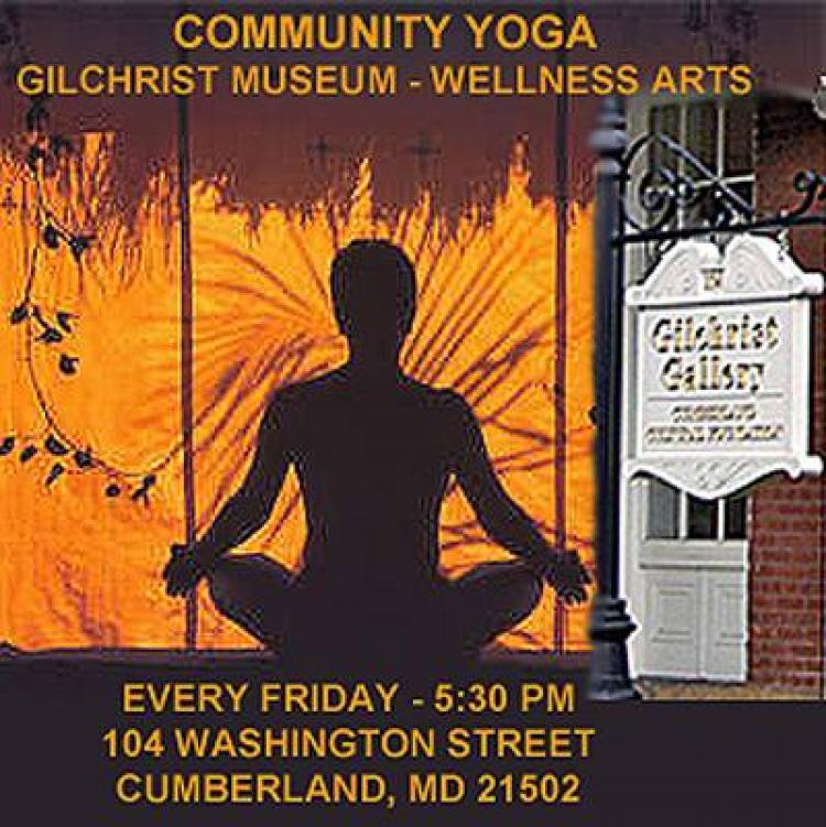 Community Yoga at C. William Gilchrist Museum of the Arts