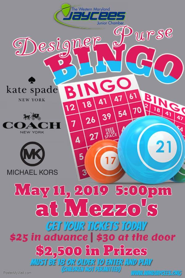 WMD Jaycees host: Designer Purse Bingo at Mezzo's