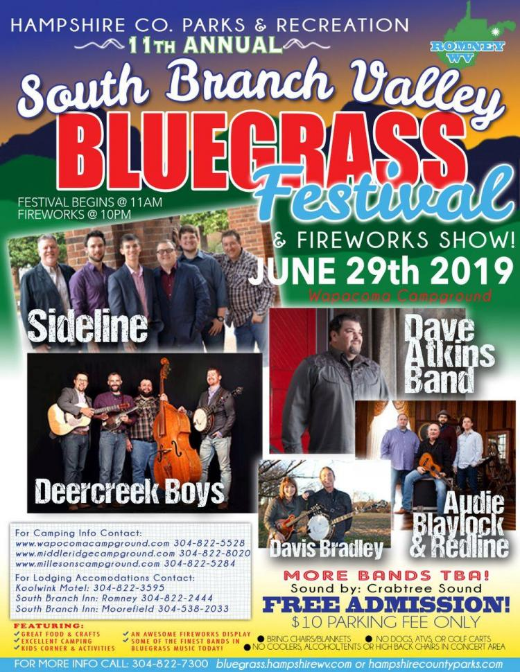South Branch Valley Bluegrass Festival, Romney
