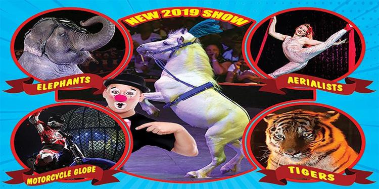 Loomis Bros. Circus: 2019 'Circus TraditionsTour' - BEDFORD, PA