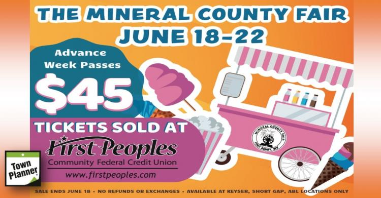 Mineral Co. Fair Advance week passes only $45