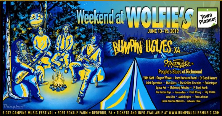 Weekend at Wolfie's Music festival, Bedford
