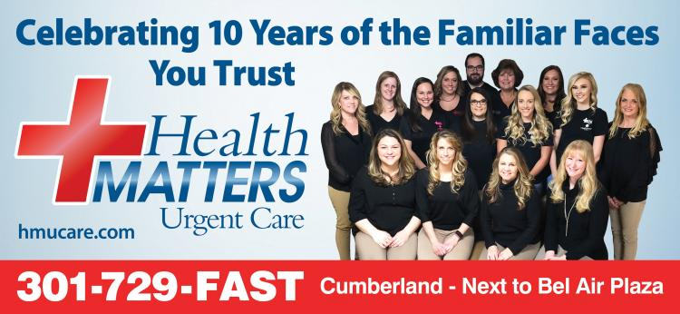 Health Matters Urgent Care, celebrating 10 years!