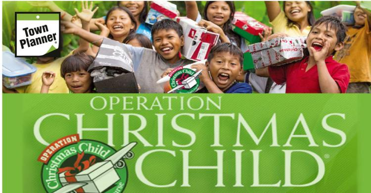 Operation Christmas Child Collection Week begins
