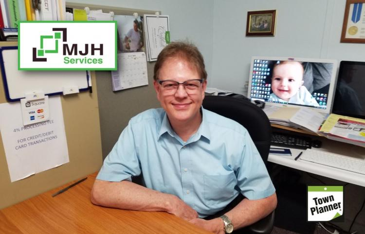 Welcome new Town Planner  sponsor, Michael Herline, MJH SERVICES