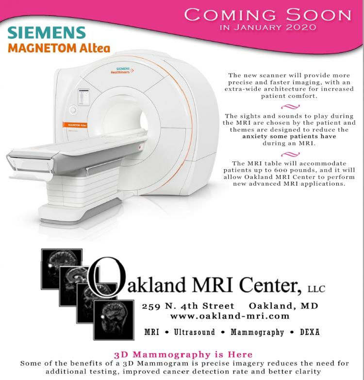 Coming in January...New Advanced Scanning at Oakland MRI!