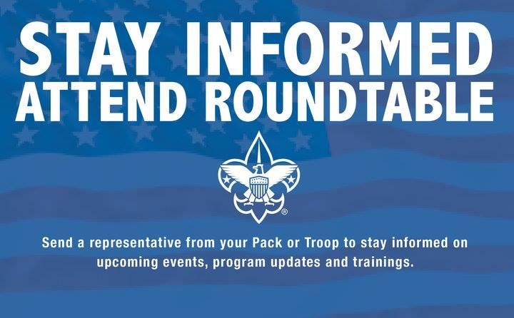 Fort Bedford District Boy Scouts Roundtable