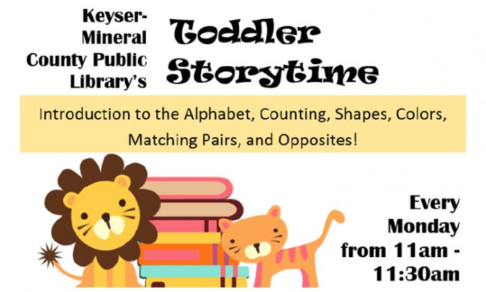 Keyser-Mineral Co. Library Storytime