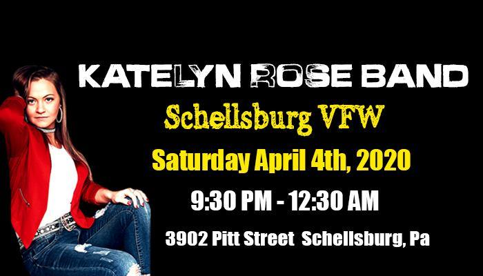 Katelyn Rose Band at Schellsburg VFW