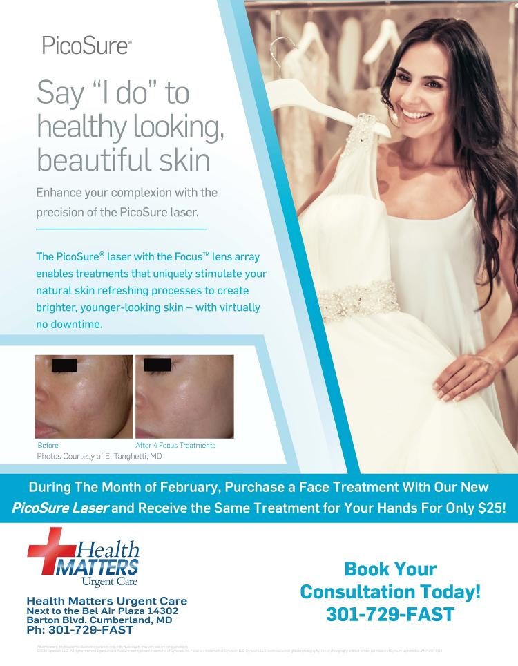 """Say """"I do"""" to healthy looking, beautiful skin at Health Matters"""