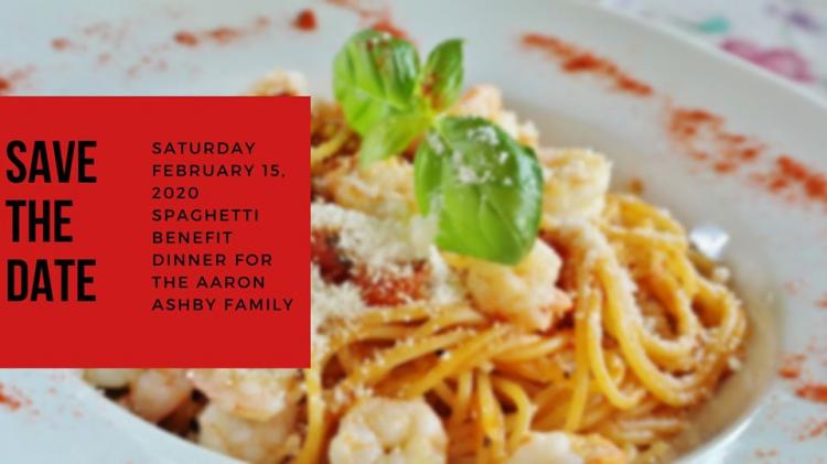 Spaghetti Benefit Dinner For The Ashby Family