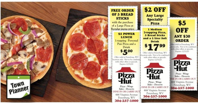 Pizza Hut in Petersburg still open for take-out!