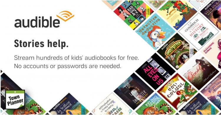 Looking for something for the kids?  Audible Streaming FREE!