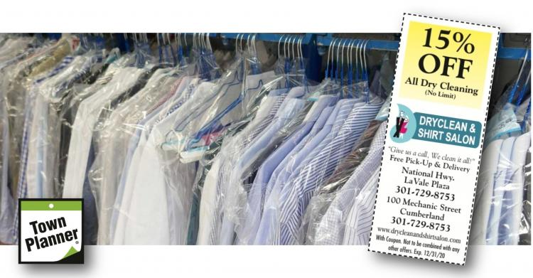 Dryclean and Shirt Salon Open/ FREE Delivery & Pickup