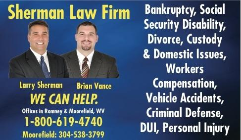 Sherman Law Firm Open and exercising precautions