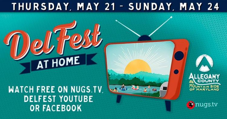 DelFest At Home, A virtual event!