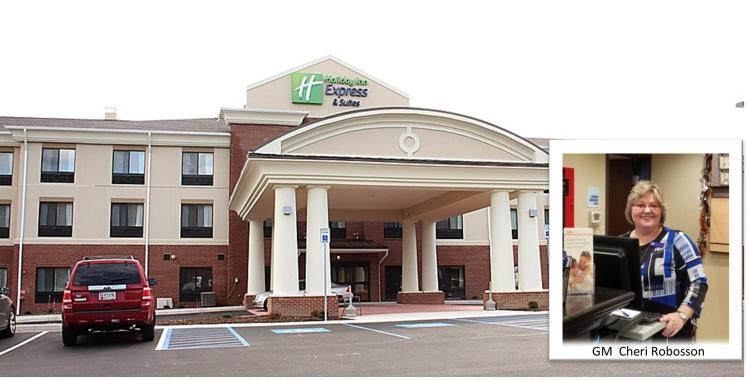 Holiday Inn Express Lavale OPEN with safety in mind!!